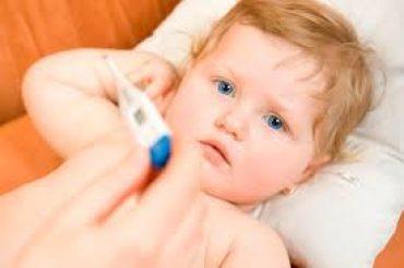 La fiebre en niños